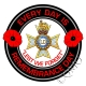 Light Dragoons Remembrance Day Sticker