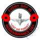 The Parachute Regiment Remembrance Day Sticker