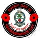 Princess Of Wales Royal Regiment Remembrance Day Sticker