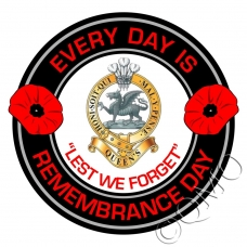 The Queens Regiment Remembrance Day Sticker