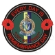 Queens Royal Irish Hussars Remembrance Day Sticker