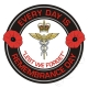 RAF Royal Air Force Medical Remembrance Day Sticker