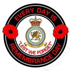 RAF Royal Air Force Police Remembrance Day Sticker