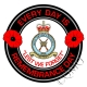 RAF Royal Air Force Regiment Remembrance Day Sticker
