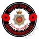 RCT Royal Corps Of Transport Remembrance Day Sticker