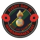 RHF Royal Highland Fusiliers Remembrance Day Sticker