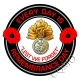 Royal Regiment Of Fusiliers Remembrance Day Sticker