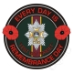 Worcestershire & Sherwood Foresters Remembrance Day Sticker