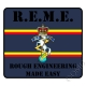 REME Rough Engineering Made Easy Sticker