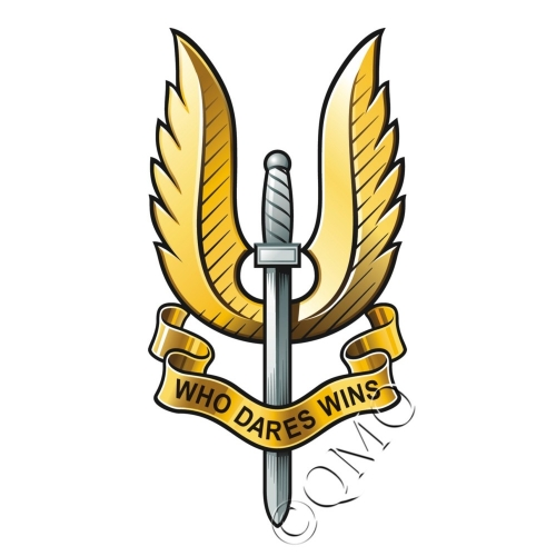 Special Air Service Logo http://thequartermasteronline.co.uk/index.php?route=product/product&product_id=105