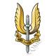 SAS Special Air Service Logo / Crest Sticker