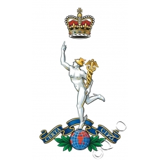 Royal Corps Of Signals Logo / Crest Sticker