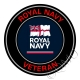 Royal Navy Veterans Sticker